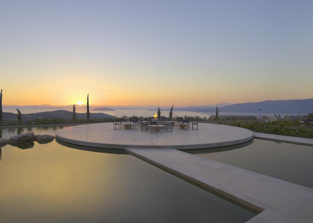 Amanzoe, Grèce - Terrasse