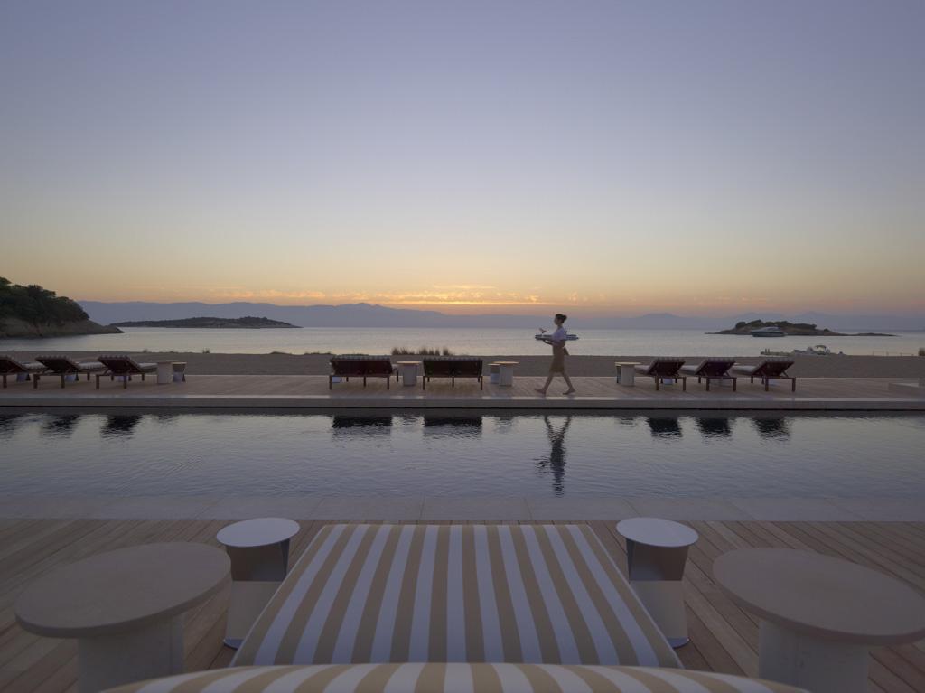 Amanzoe, Grèce - Beach club