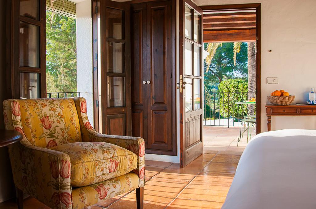 Chambre avec vue sur le jardin | © Cas Gasi
