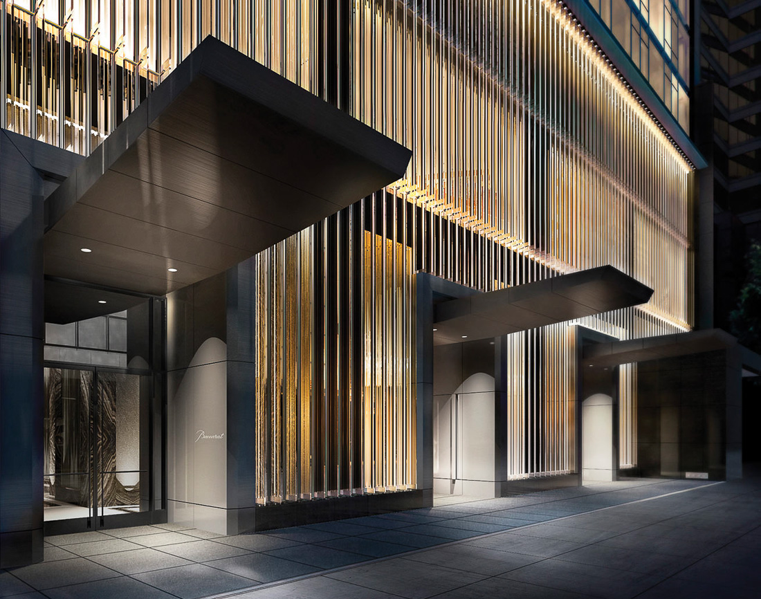 Baccarat Hotel New York - Entrée