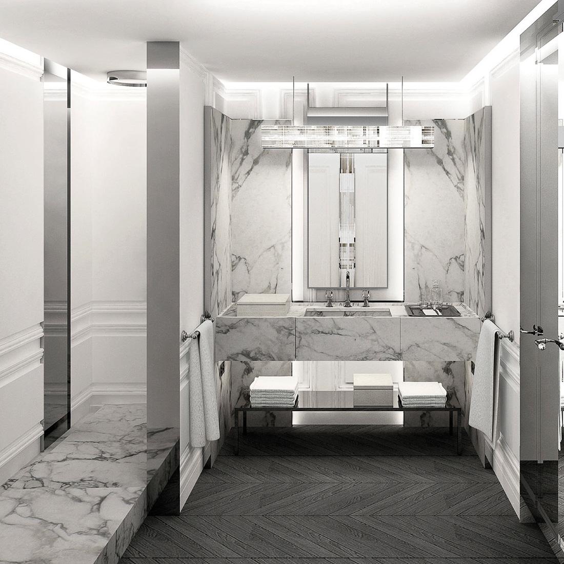 Baccarat Hotel New York - Salle de bain