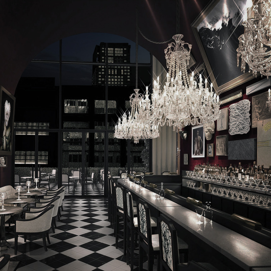 Baccarat Hotel New York - The Bar