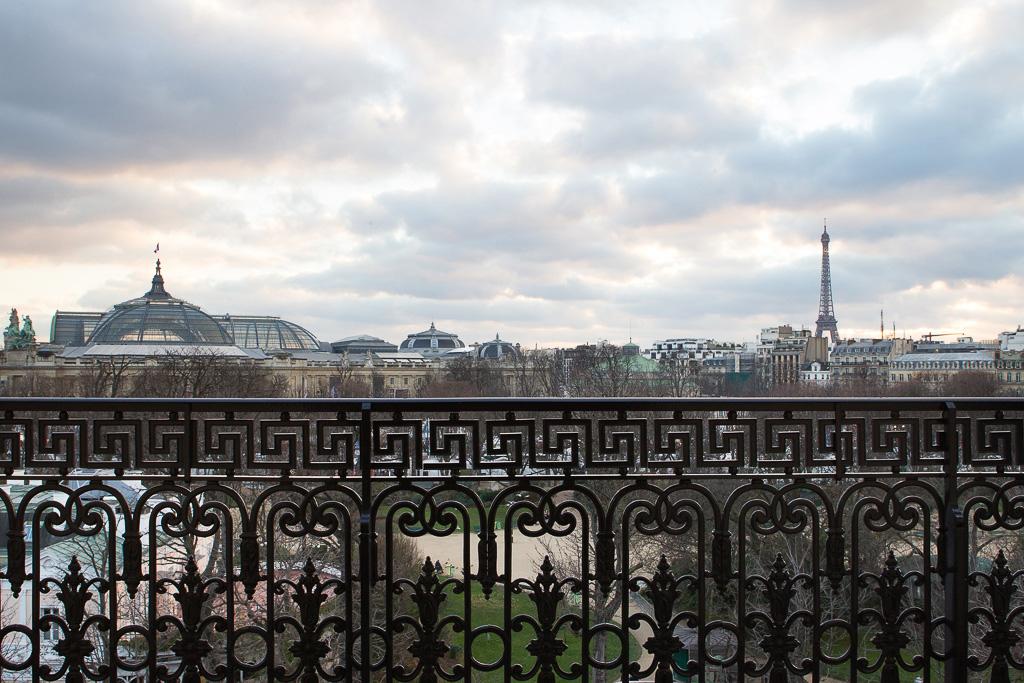 La Réserve Paris - Vue sur le Grand Palais et Paris