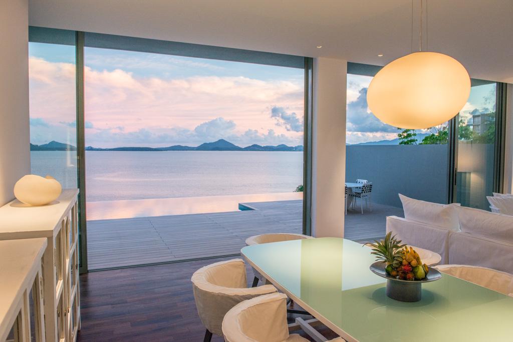Villas Point Yamu by COMO à Phuket - Salle à manger avec vue