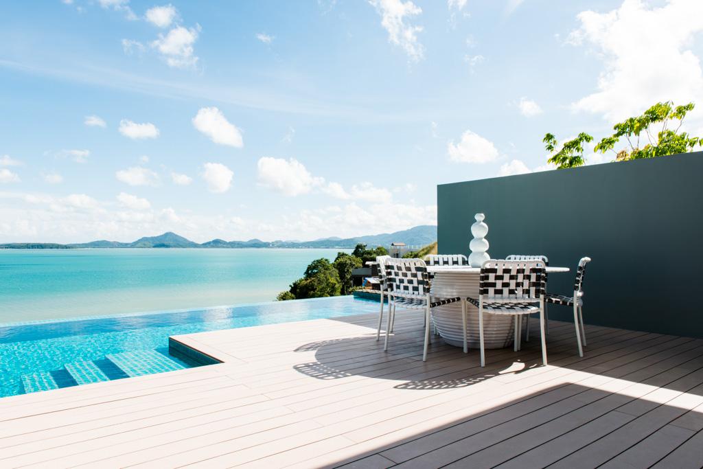 Villas Point Yamu by COMO à Phuket - Terrasse avec vue