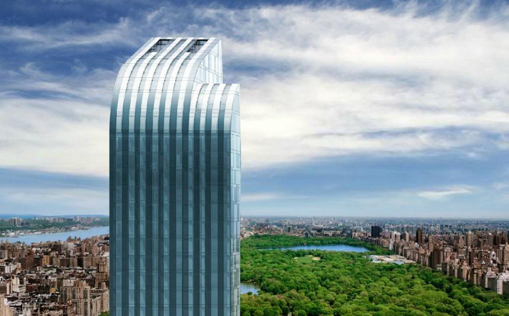 A l int rieur du penthouse le plus cher de new york yonder for Plus haute tour new york