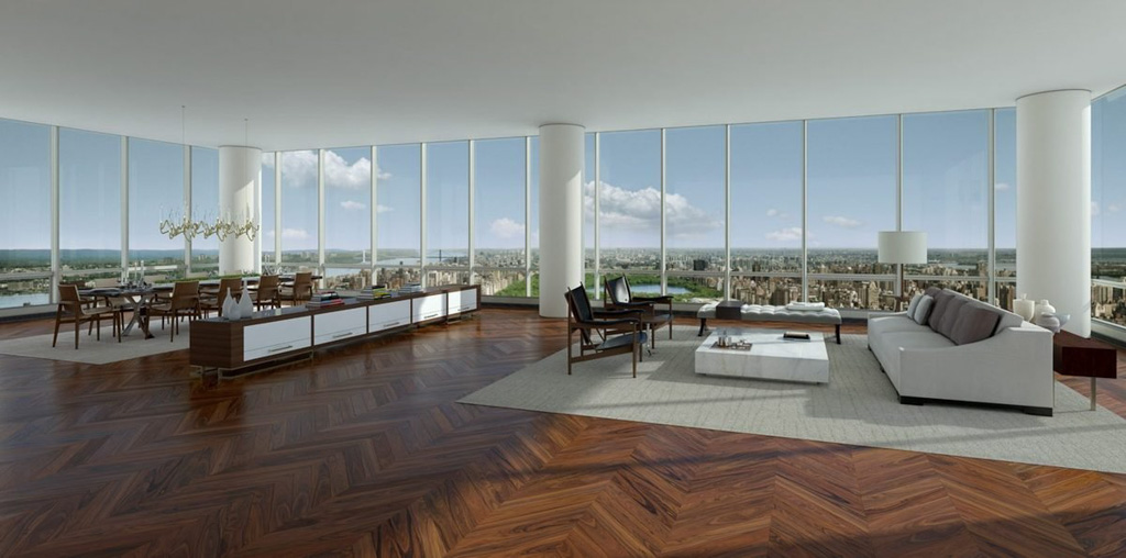A l int rieur du penthouse le plus cher de new york yonder for New york city penthouses central park