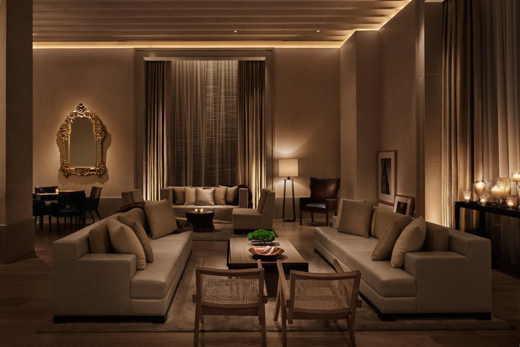 Le Lobby de l'hôtel, un lieu de calme aux allures de Gold Coast