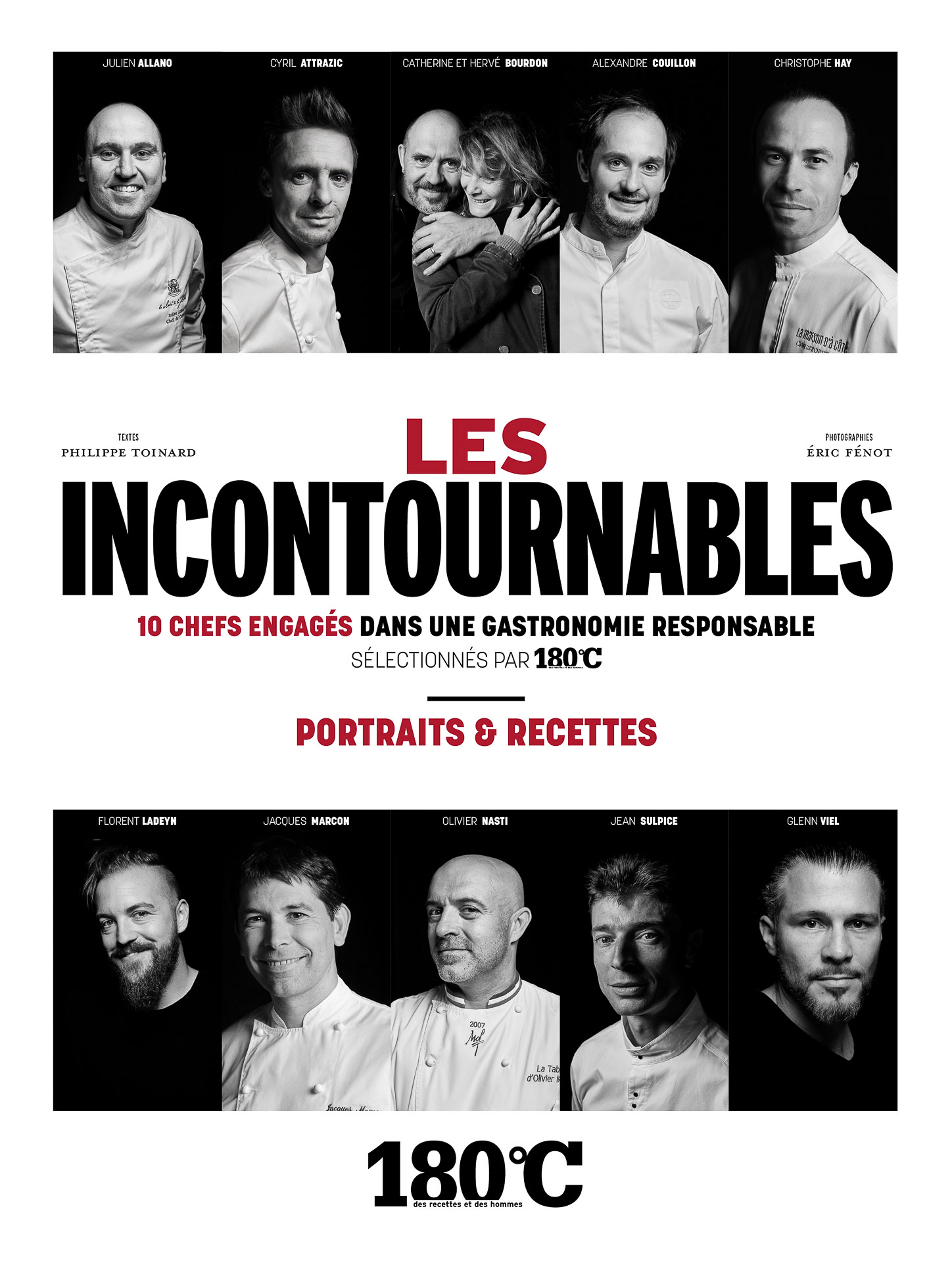 Les Incontournables : 10 chefs engagés dans une gastronomie responsable sélectionnés par 180°C