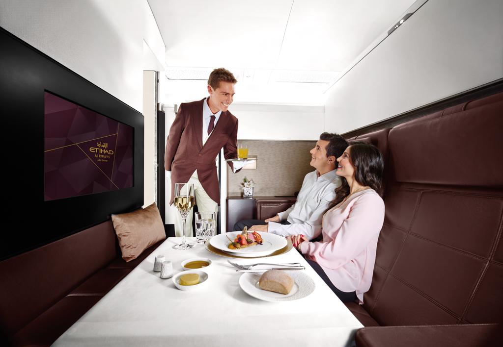 A380 - Etihad Airways - Cabine The Residence - Salon