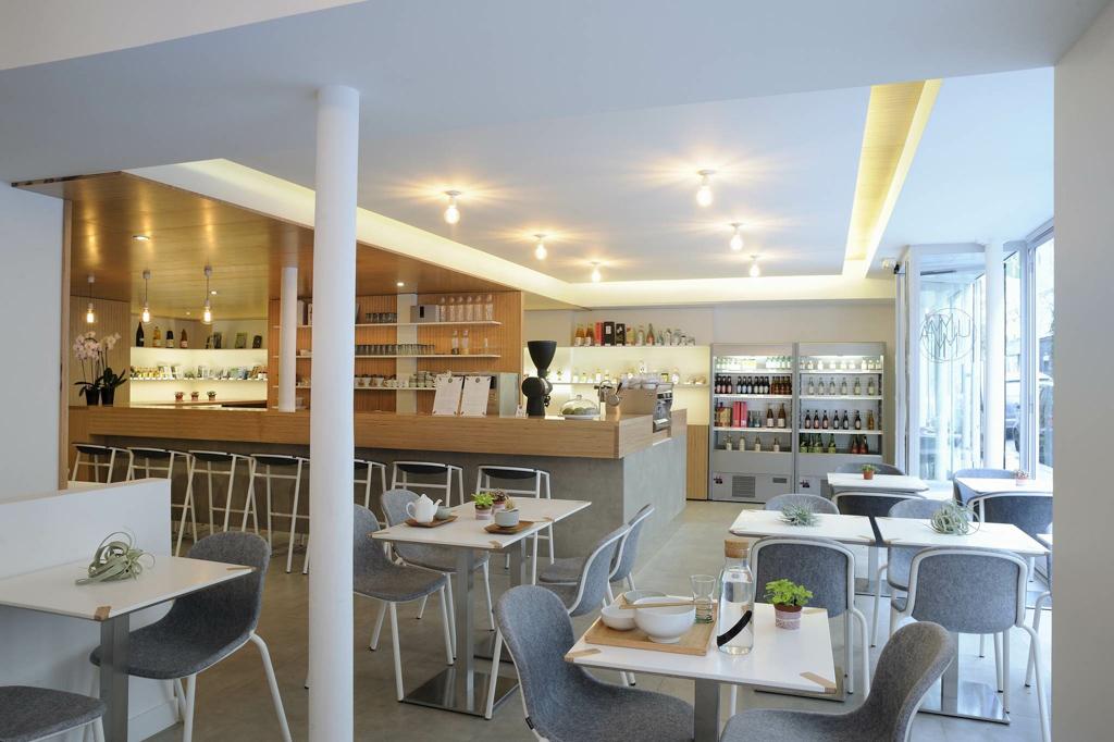 Umami Matcha Café Intérieur © Julien Valle