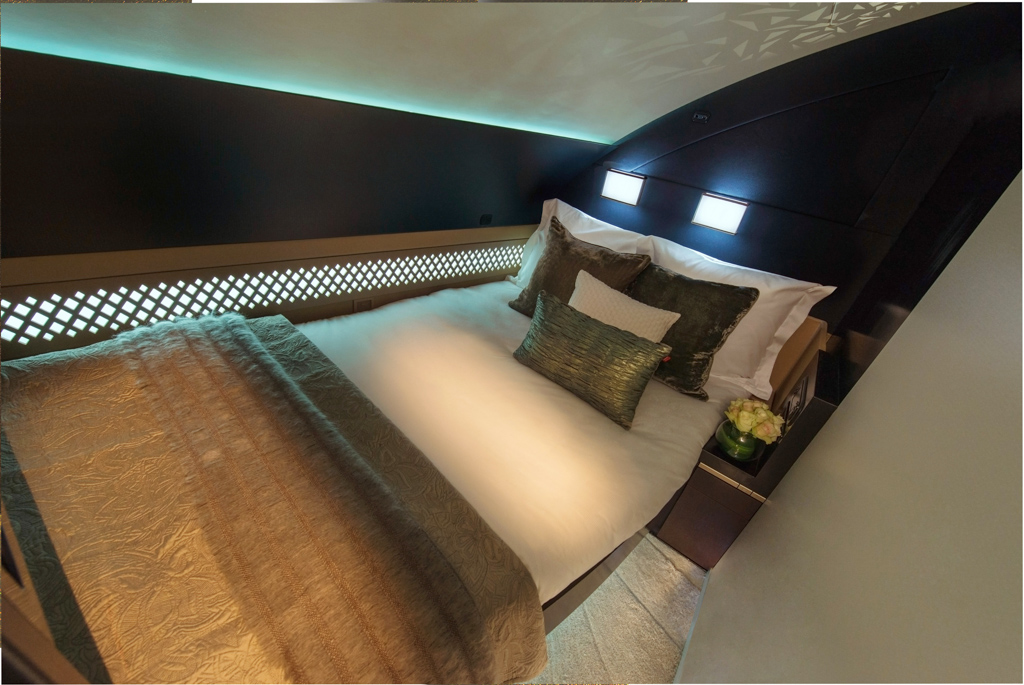 A380 - Etihad Airways - Cabine The Residence - Chambre