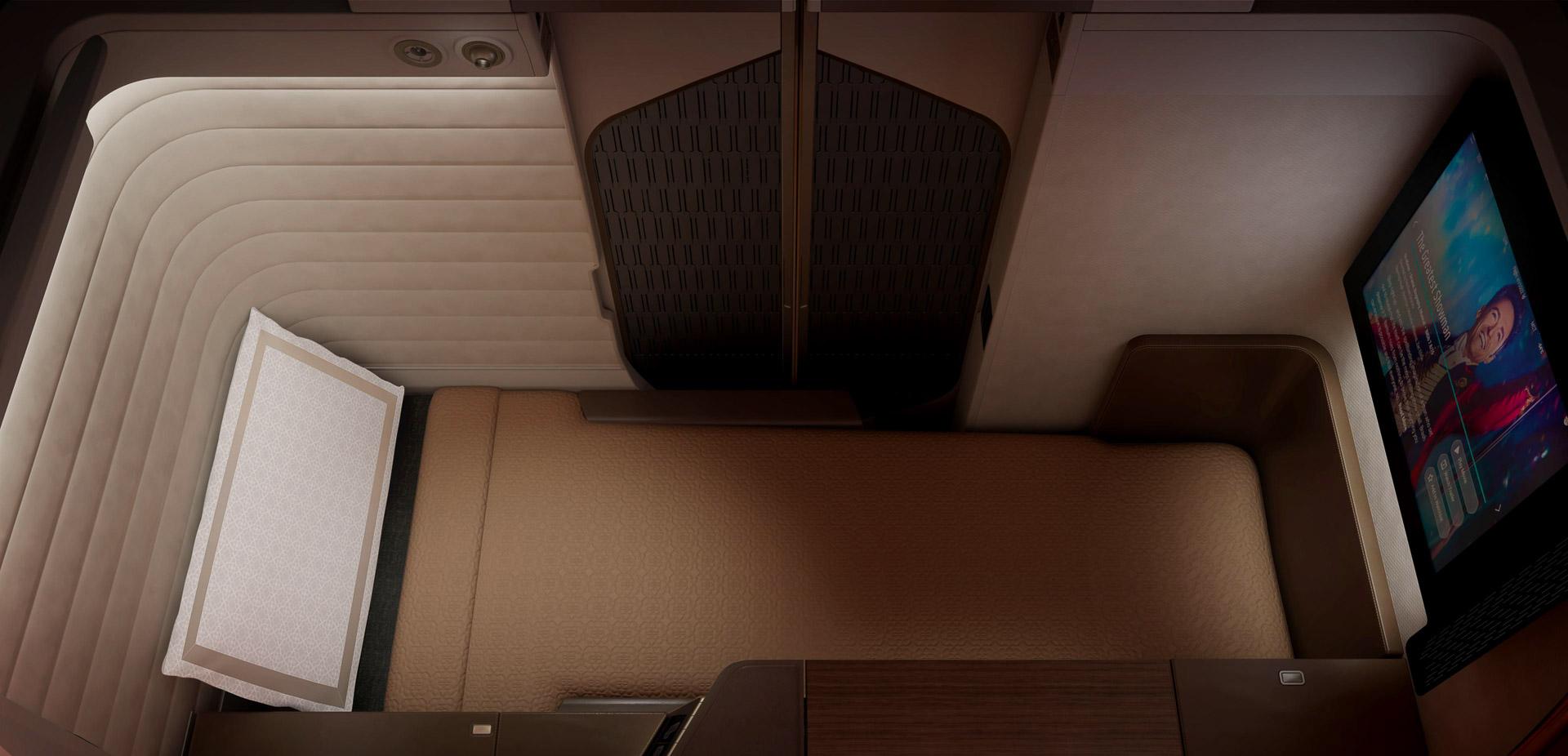Oman Air - Mini Suite First Class - Siège