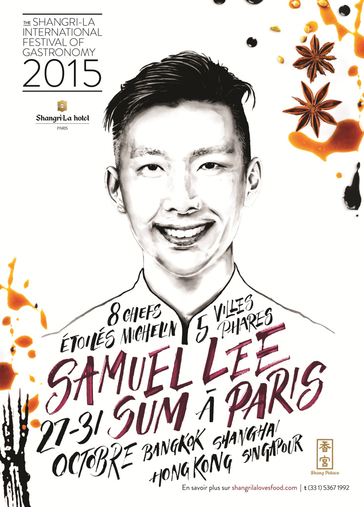 Shangri-La Paris - Chef Samuel Lee