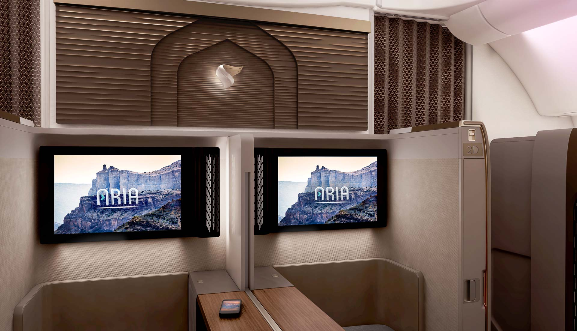 Oman Air - Mini Suite First Class - IFE