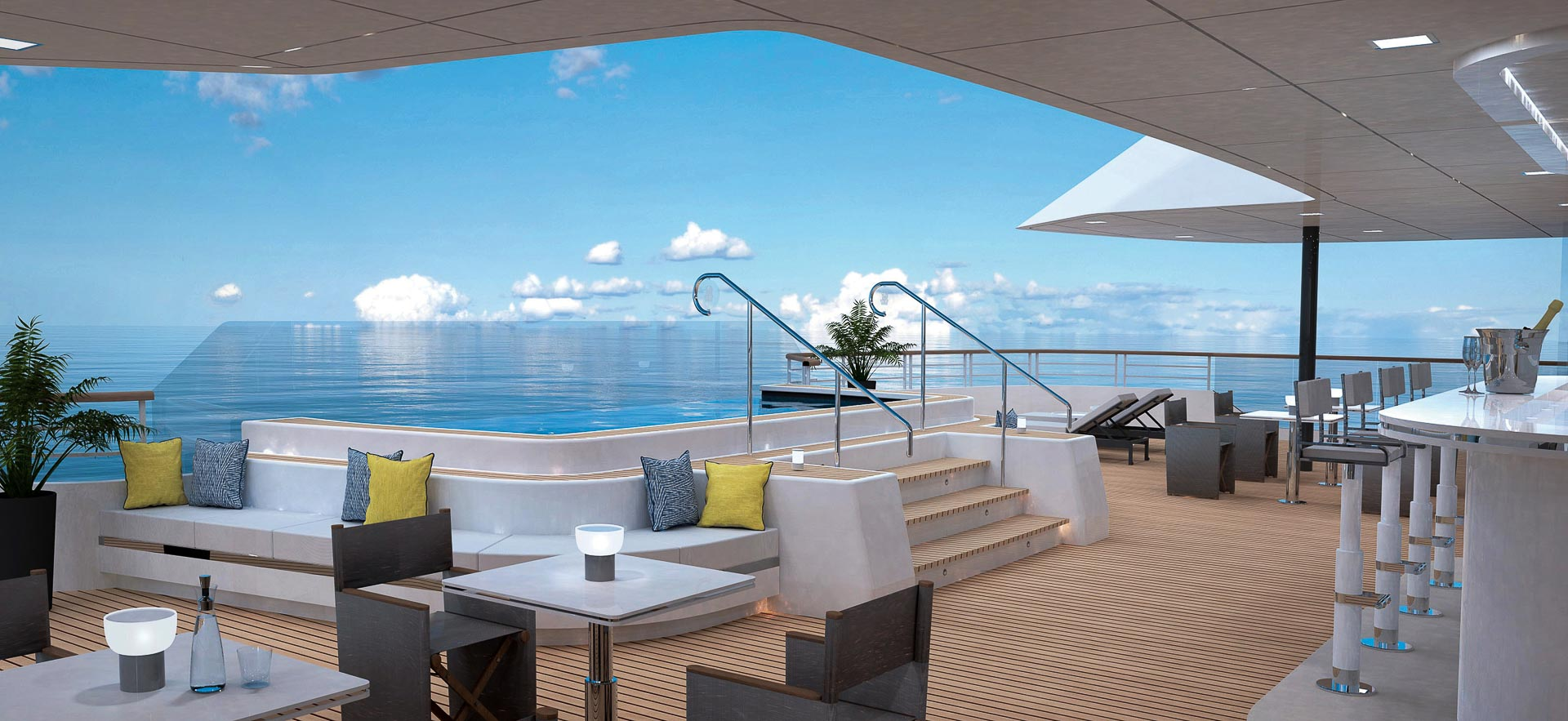 The Ritz-Carlton Yacht Collection - The Outdoor Grill