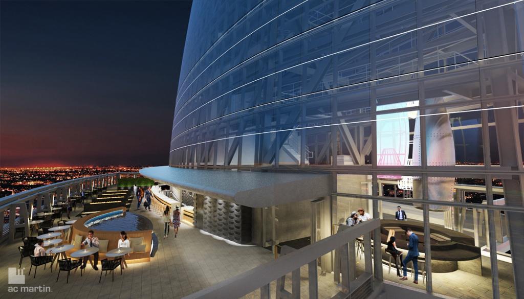 Wilshire Grand - InterContinental - Rooftop