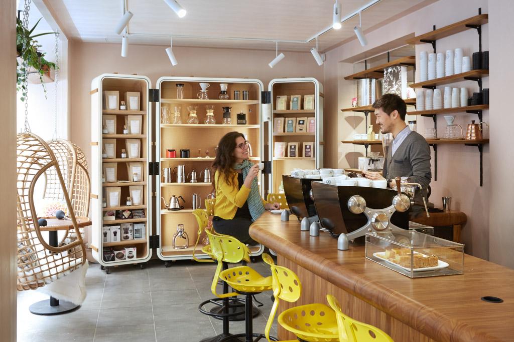 Terres de Café Marais Paris intérieur