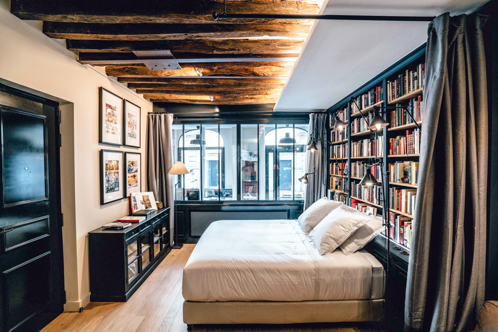 Paris Boutik Suite Librairie Marais - Chambre