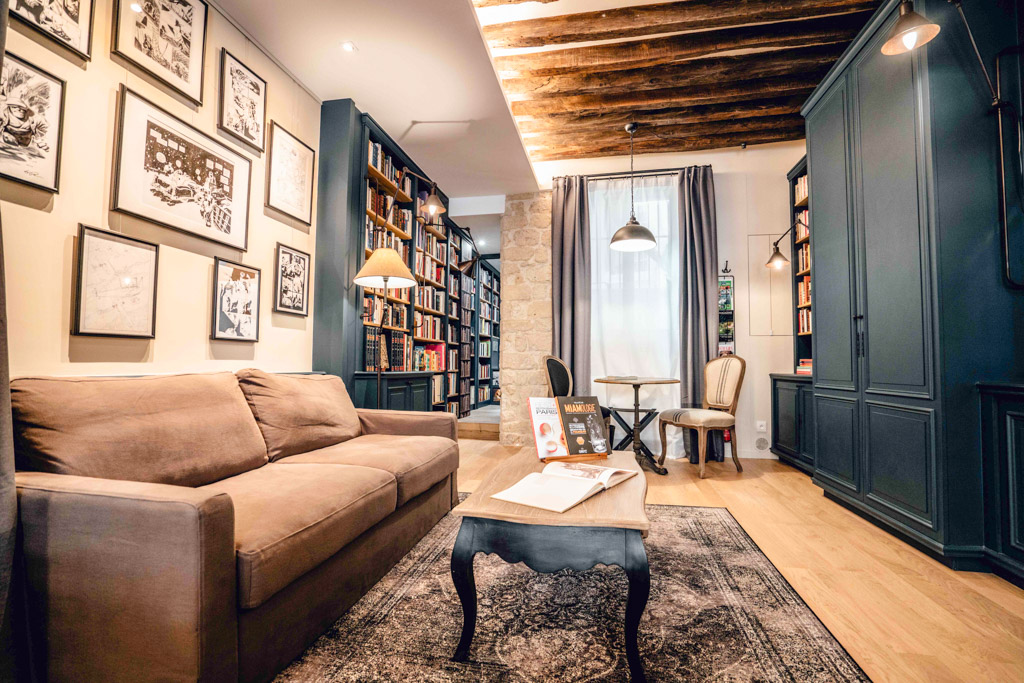 Paris Boutik Suite Librairie Marais - Salon