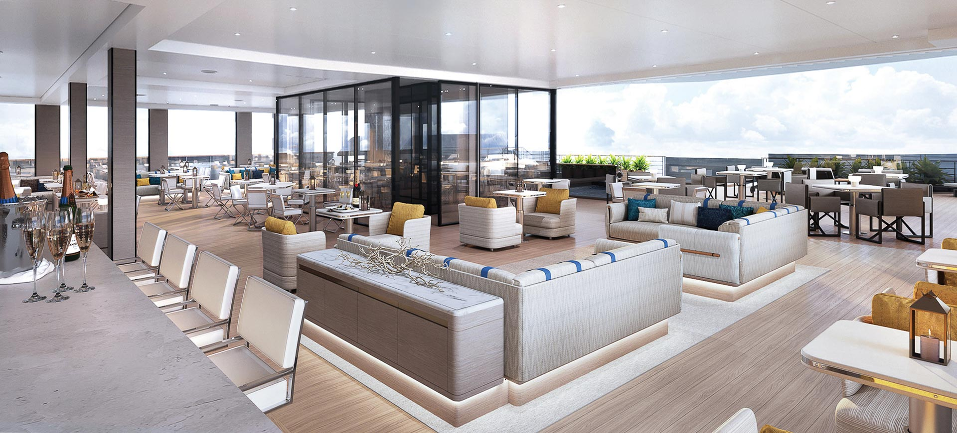 The Ritz-Carlton Yacht Collection - Marina Lounge