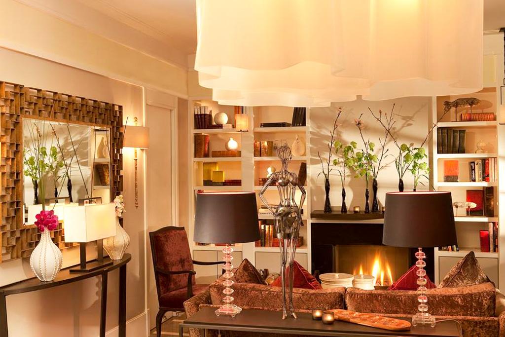 Villa Madame - Paris 6ème - Cheminée