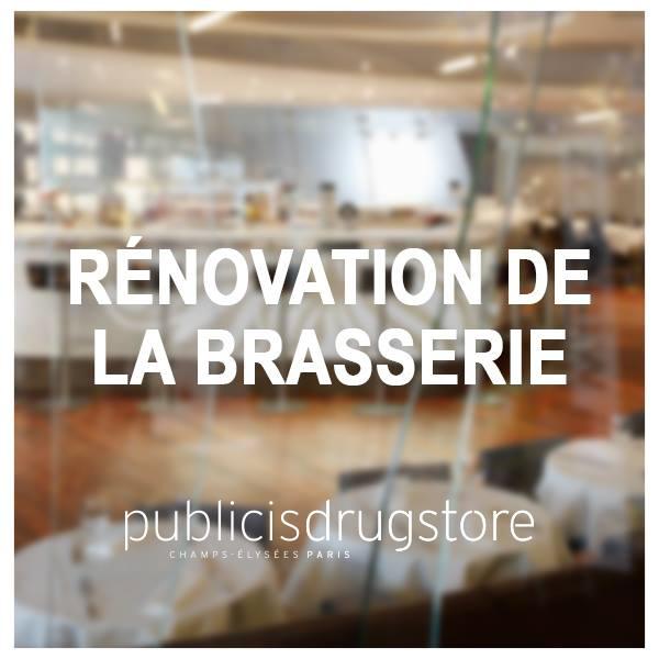 Nouveaux restaurants 2017 - France - Publicis Drugstore par Eric Frechon
