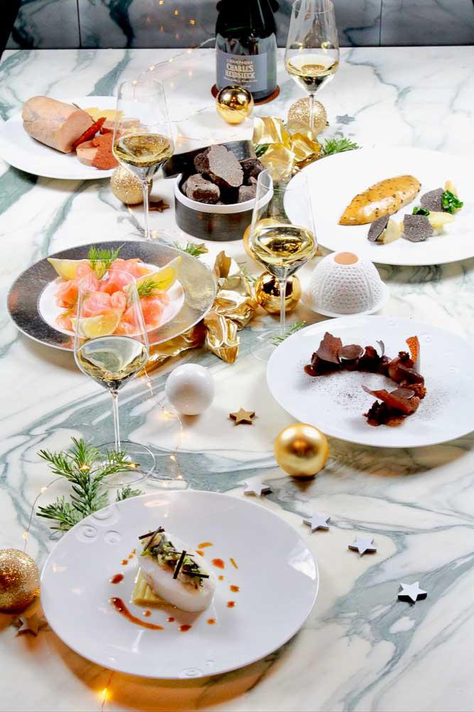 Menu de Noël de la Maison Rostang © DR