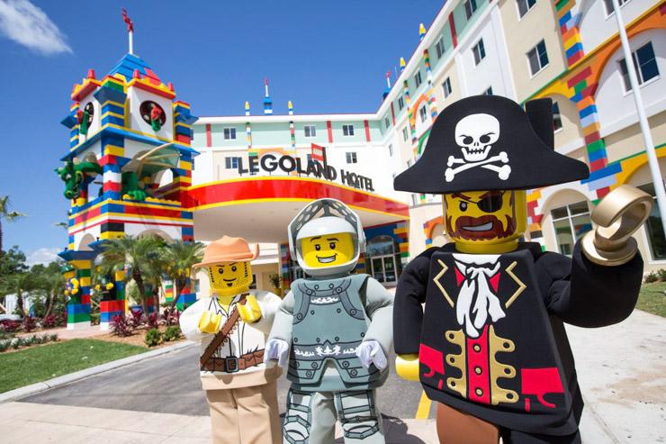 L'hôtel Lego vient d'ouvrir ses portes en Floride - Les personnages