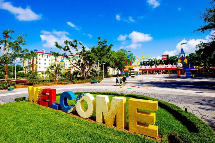 L'hôtel Lego vient d'ouvrir ses portes en Floride - Entrance
