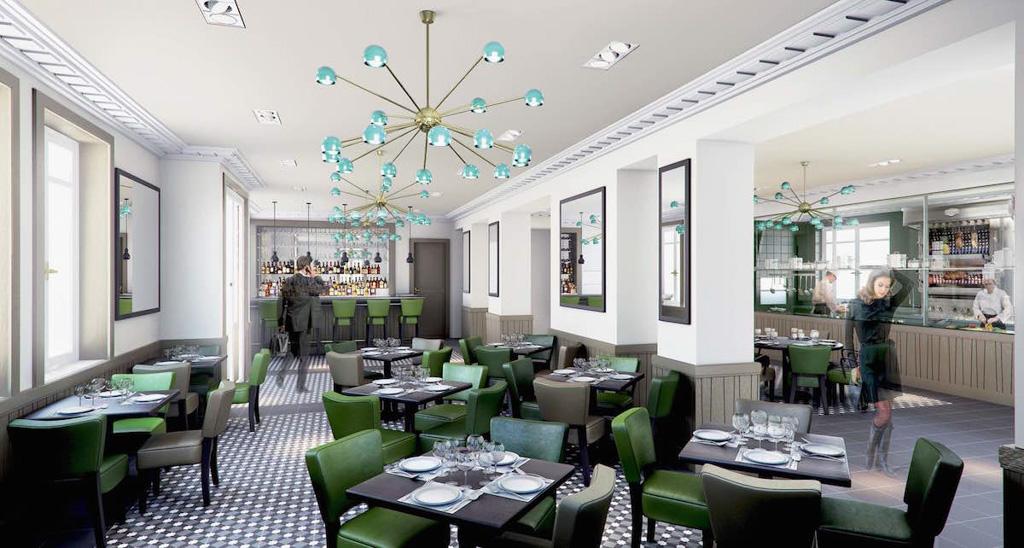 Nouveaux restaurants 2017 - France - La Villa Marx, Lyon