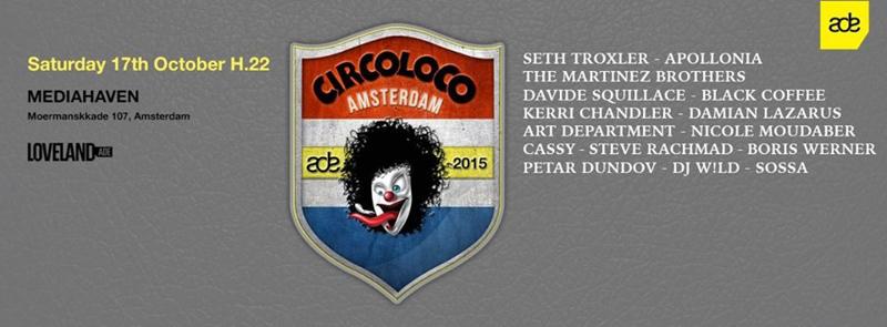 Circoloco ADE 2015