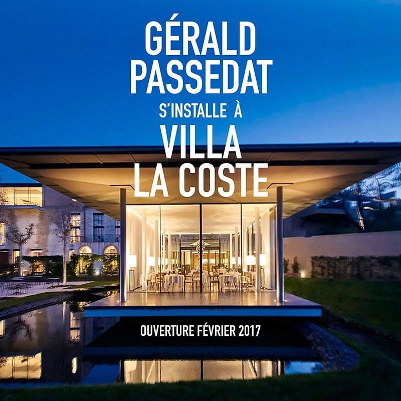 Nouveaux restaurants 2017 - France - Gérald Passédat - Château La Coste