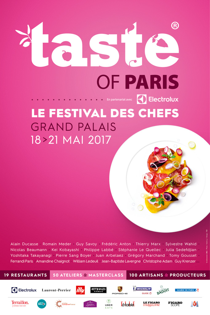 Affiche Taste of Paris 2017