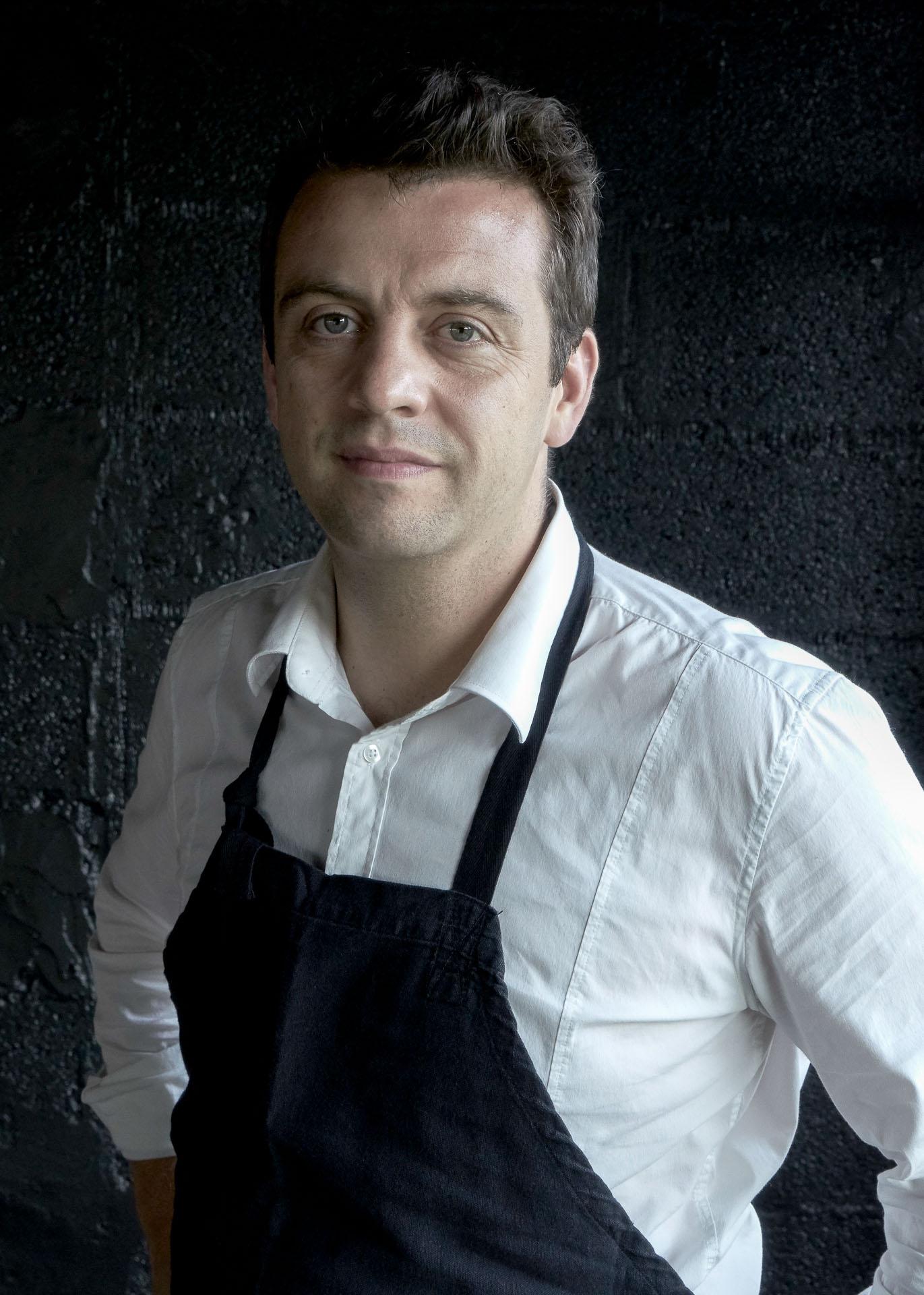Portrait d'Alexandre Gauthier, chef de La Grenouillère © Marie-Pierre Morel
