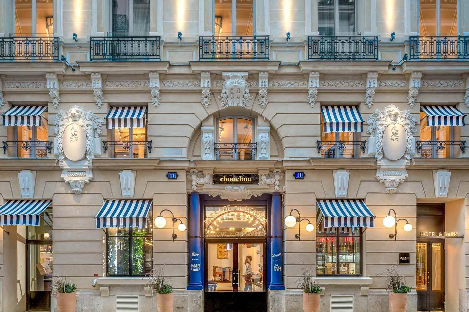 Hôtel Chouchou — façade © Chouchou