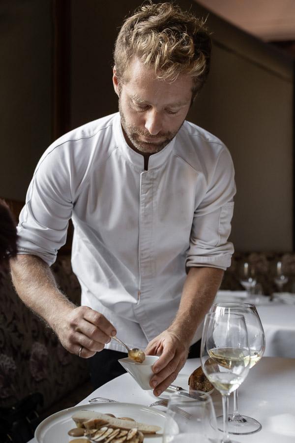 Le chef étoilé Julien Dumas prend les rênes du restaurant gastronomique du Saint James Paris © Anne-Claire Delorme