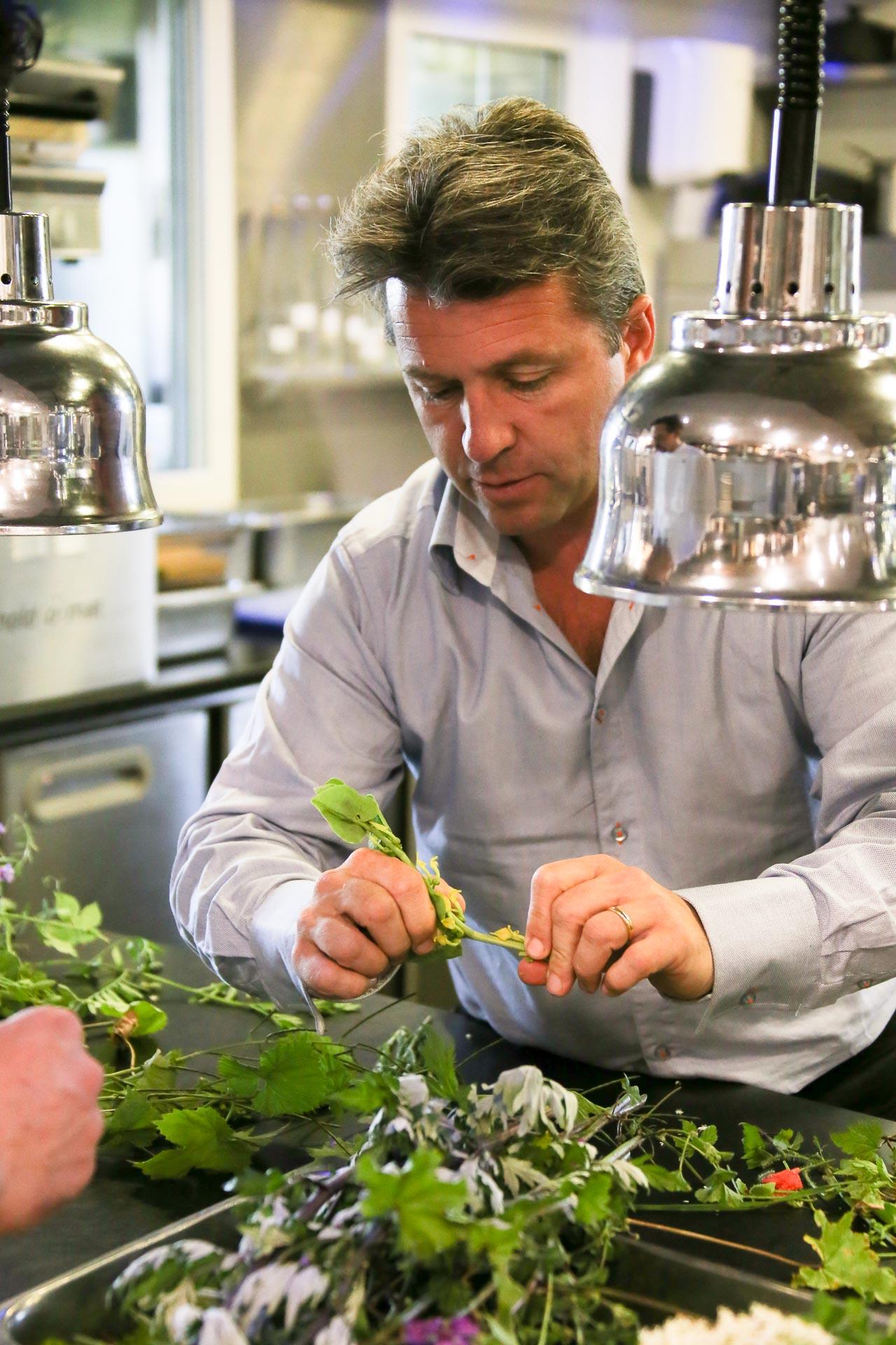 Le chef Edouard Loubet.