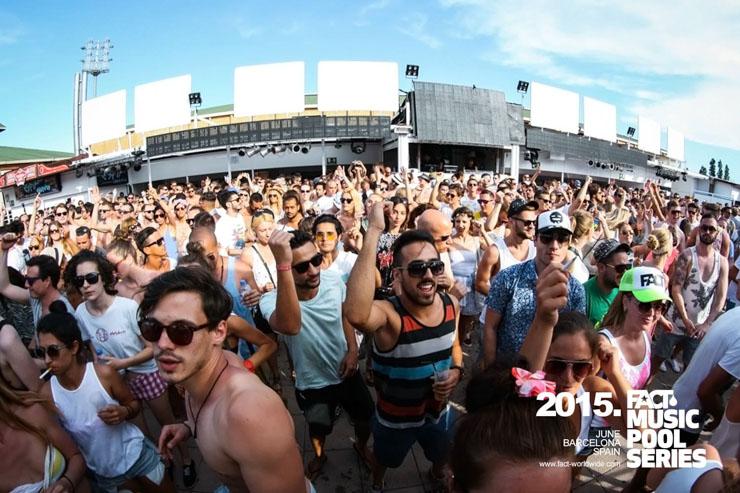 Fact Music Pool Series - Barcelona 2015