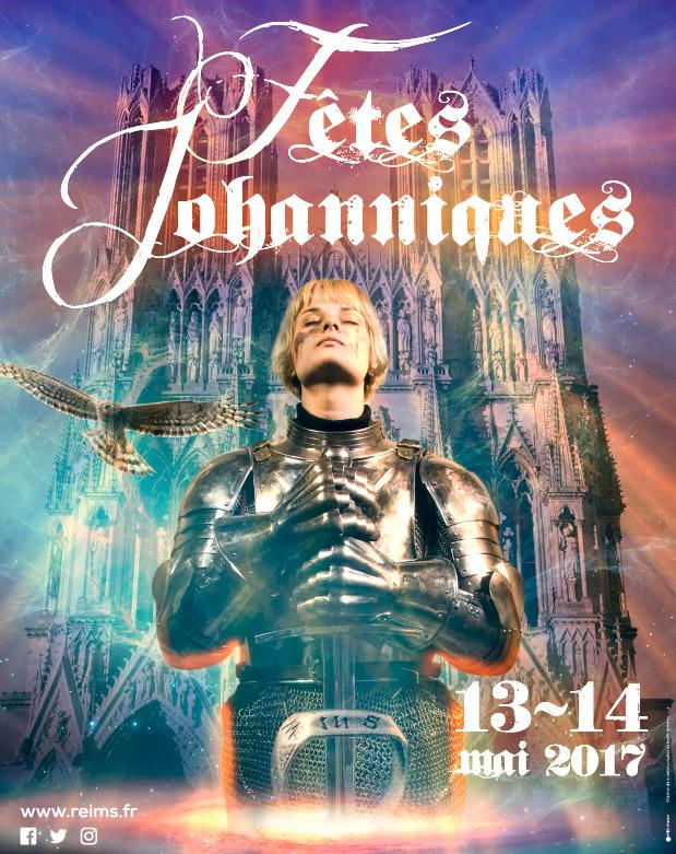 Affiche Fêtes Johanniques Reims 2017