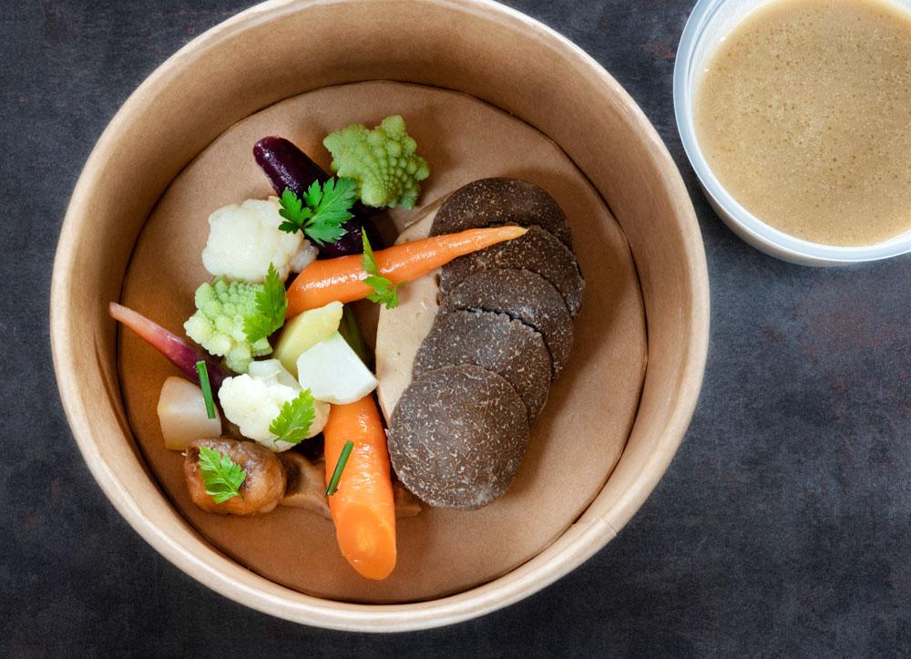 Foie gras poché au Clair de La Plume