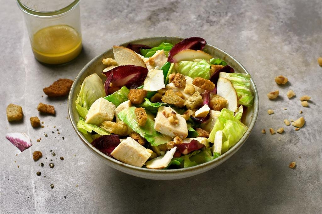 Salade de pâtes aux légumes rôtis, paprika et ricotta de Giovanni Passerini