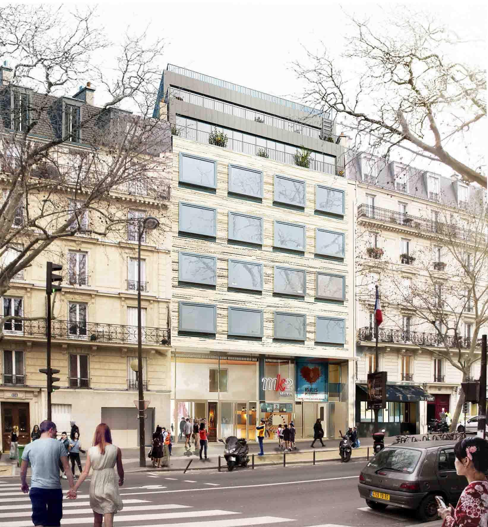 Hôtel Paradiso — façade