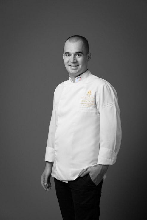 Dalloyau x Nespresso : ouverture de la terrasse estivale - le chef pâtissier Jeremy Del Val