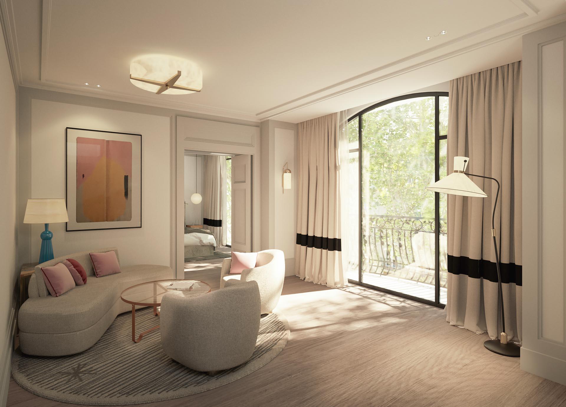 KimptonSt Honoré Paris — Junior Suite © DR