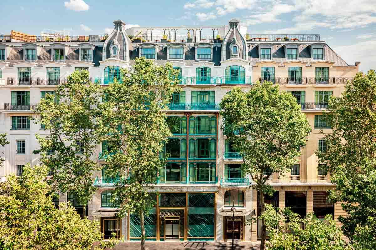 KimptonSt Honoré Paris - Façade © Jérôme Galland