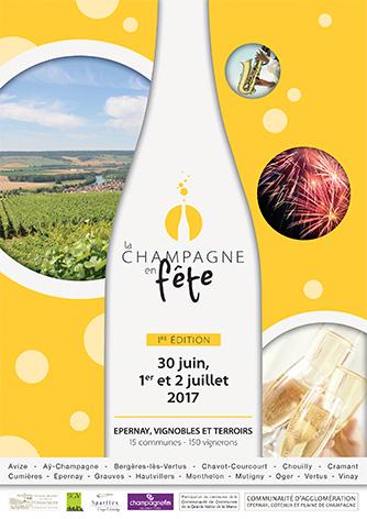 Affiche La Champagne en fête 2017