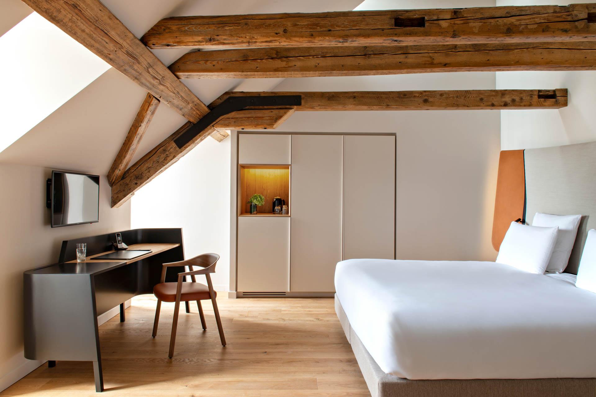 Chambre des Haras de Strasbourg par Jouin Manku © Nicolas Matheus