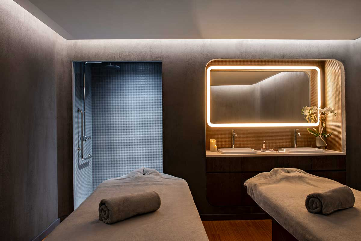 Hôtel Les Haras (Strasbourg) - Spa - Cabine de soins © Nicolas Matheus
