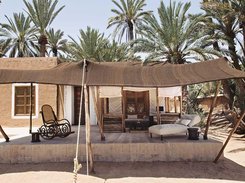 Maison de l'Oasis - Tighmert - Maroc © DR